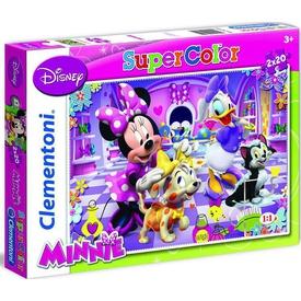 Clementoni Çocuk  2x20 Parça Minnie Puzzle