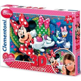 Clementoni 3d Çocuk  104 Parça Minnie Puzzle