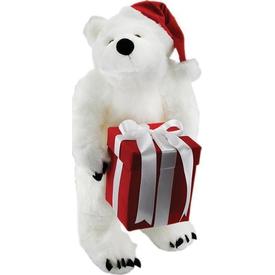 Neco Plush Kutulu Noel Peluş Kutup Ayısı 64 Cm Peluş Oyuncaklar