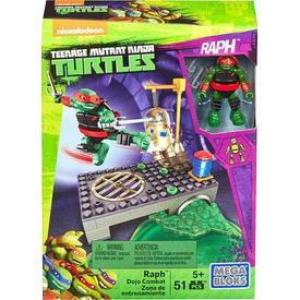 Mega Bloks Ninja Kaplumbağalar Lair Training Raph Oyun Seti Lego Oyuncakları