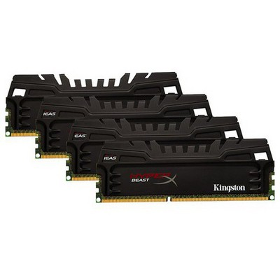 Kingston 16GB 4x4G HyperX D3 1600M KHX16C9T3K4/16X RAM