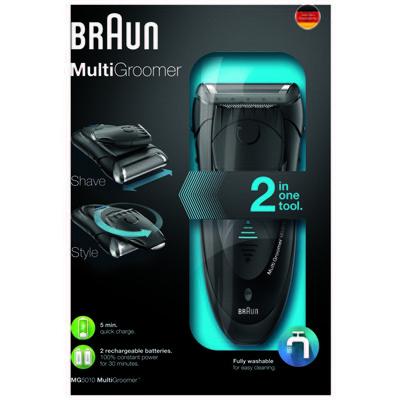 Braun MG5010 Multi Groomer Tıraş ve Şekillendirme Makinesi