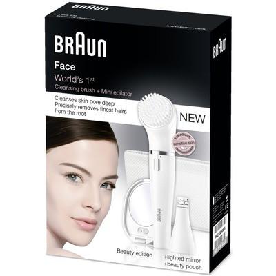Braun SE831 Face Yüz Epilatörü ve Temizleme Cihazı