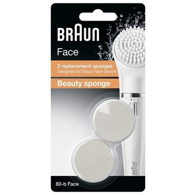 Braun 80-b Face Güzellik Süngeri 2'li Yedek Başlık