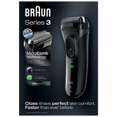 Braun Series 3 3020s Islak&Kuru Tıraş Makinesi