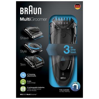 Braun MG5050 Multi Groomer Tıraş ve Şekillendirme Makinesi