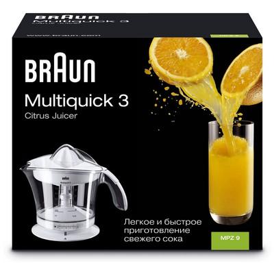 Braun Multiquick 3 MPZ 9 Citromatic Vario Narenciye Sıkacağı
