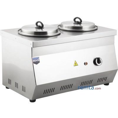 Remta C12 Çift Demlikli 40 Model Lpg Gazlı Kahveci Takımı Endüstriyel Mutfak Aletleri