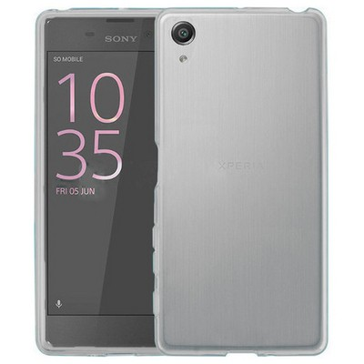 Microsonic Sony Xperia Xa Kılıf Transparent Soft Beyaz Cep Telefonu Kılıfı