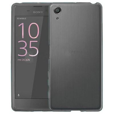 Microsonic Sony Xperia Xa Kılıf Transparent Soft Siyah Cep Telefonu Kılıfı