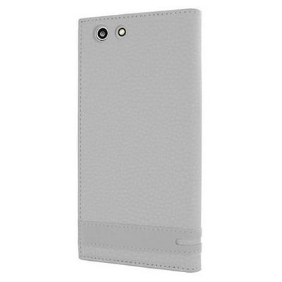 Microsonic Turkcell T70 Kılıf Gizli Mıknatıslı Dual View Delux Beyaz Cep Telefonu Kılıfı