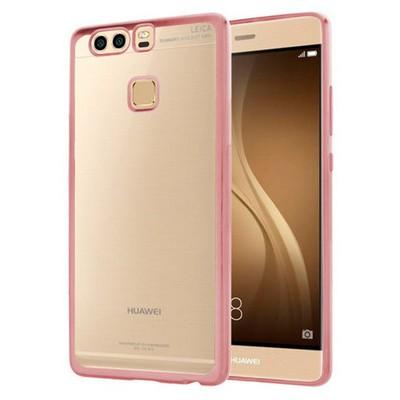 Microsonic Huawei P9 Kılıf Flexi Delux Rose Gold Cep Telefonu Kılıfı
