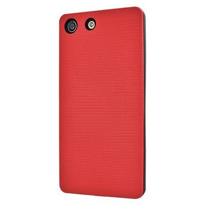 Microsonic Sony Xperia M5 Kılıf Linie Anti-shock Kırmızı Cep Telefonu Kılıfı