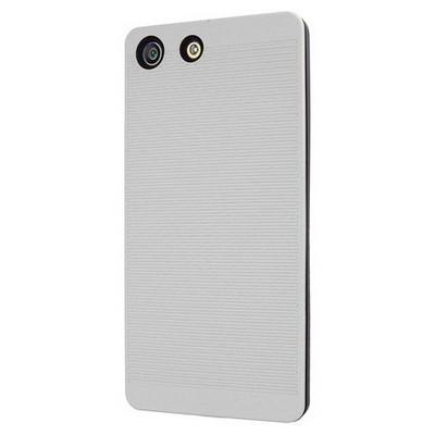 Microsonic Sony Xperia M5 Kılıf Linie Anti-shock Beyaz Cep Telefonu Kılıfı