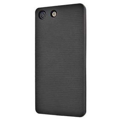 Microsonic Sony Xperia M5 Kılıf Linie Anti-shock Siyah Cep Telefonu Kılıfı