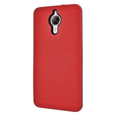 Microsonic General Mobile Gm5 Plus Kılıf Linie Anti-shock Kırmızı Cep Telefonu Kılıfı