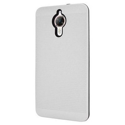 Microsonic General Mobile Gm5 Plus Kılıf Linie Anti-shock Beyaz Cep Telefonu Kılıfı