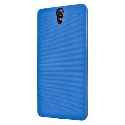 Microsonic Sony Xperia C5 Ultra Kılıf Linie Anti-shock Mavi Cep Telefonu Kılıfı