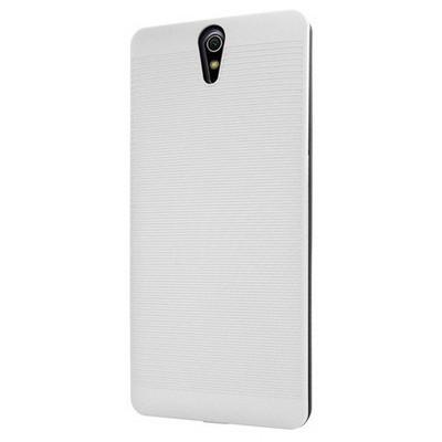 Microsonic Sony Xperia C5 Ultra Kılıf Linie Anti-shock Beyaz Cep Telefonu Kılıfı