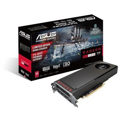 Asus Radeon RX 480 Ekran Kartı (RX480-8G)