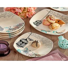 Keramika Takım Pasta Kosem 7 Parca Krem 030 Retro A Pasta Takımı