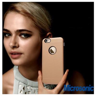 Microsonic Iphone Se Kılıf Linie Anti-shock Pembe Cep Telefonu Kılıfı