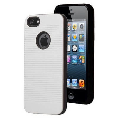 Microsonic Iphone Se Kılıf Linie Anti-shock Beyaz Cep Telefonu Kılıfı