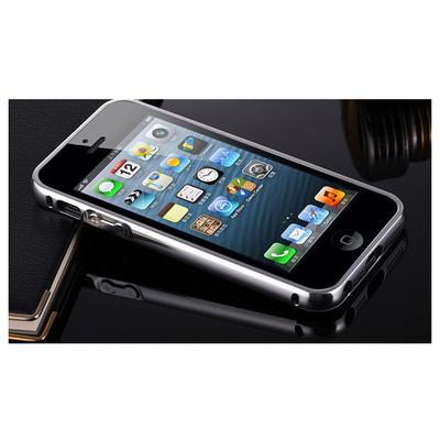 Microsonic Iphone Se Kılıf Luxury Mirror Gümüş Cep Telefonu Kılıfı