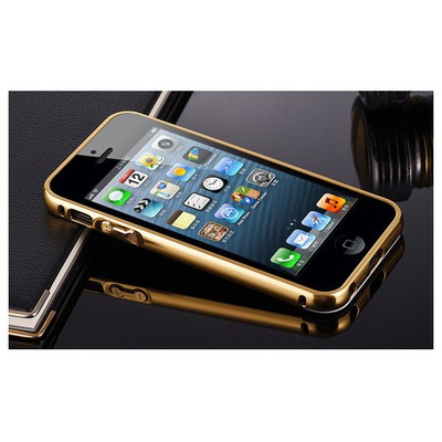 Microsonic Iphone Se Kılıf Luxury Mirror Gold Cep Telefonu Kılıfı