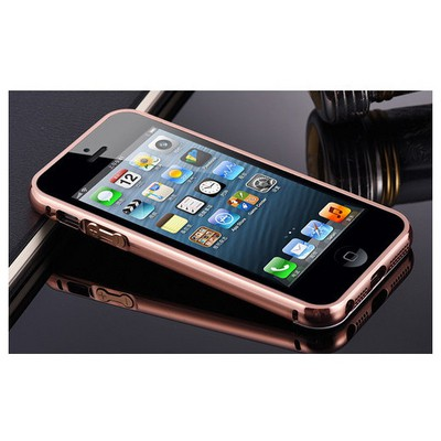 Microsonic Iphone Se Kılıf Luxury Mirror Rose Gold Cep Telefonu Kılıfı