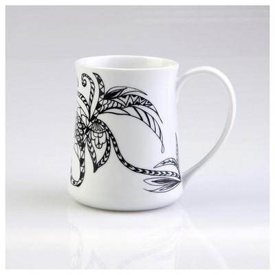 Arte Bianco Afrodit 9118 Desen Mug Bardak Bardak, Kupa, Sürahi