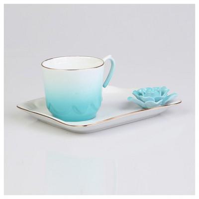 Arte Bianco Azra Kahve Fincan Takımı Çay Seti