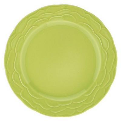 Naturaceram Natura Ceram Athena Pasta Tabağı Yeşil Tabak