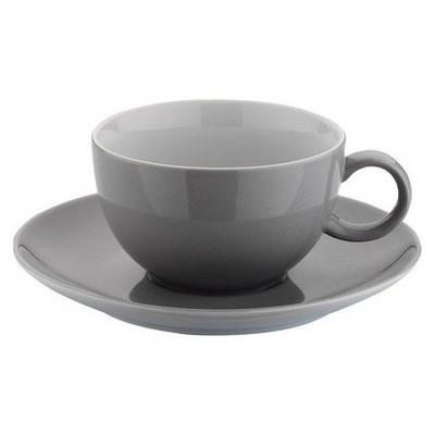 Kütahya Porselen 12 Parça Kahve Takımı Gri Çay Seti