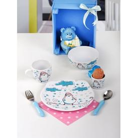 Keramika Takım Mama Ayıcık 4 Parca Beyaz 004 Wınter Bırd A Yemek Takımı