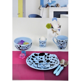 Keramika Takım Mama Ayıcık 4 Parca Buz Mavısı 405 Dalmacyalı Mavı A Yemek Takımı