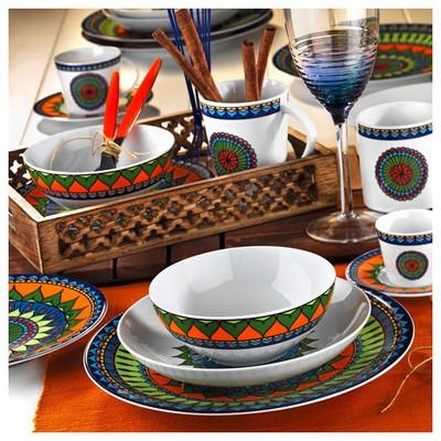 Kütahya Porselen 8982 Desen Çay Fincanı Ve Tabağı Çay Seti