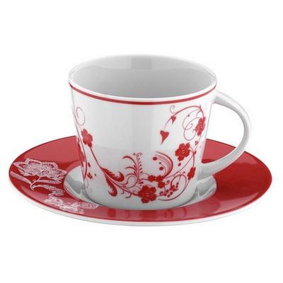 Mitterteich 8673 Desen Çay Fincanı Ve Tabağı Çay Seti