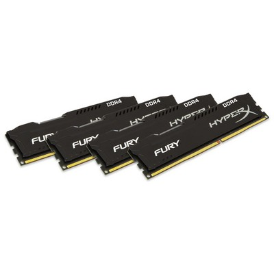 Kingston HyperX Fury 4x8GB Bellek - HX424C15FB2K4/32