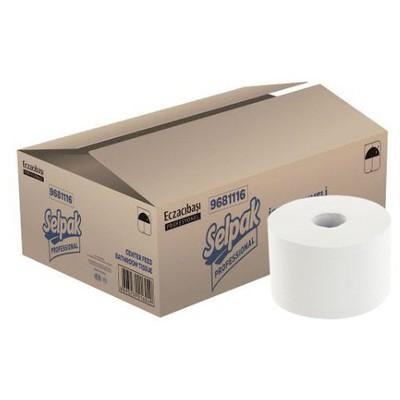 Selpak Professional Içten Çekmeli  120 M 1 Koli Tuvalet Kağıdı
