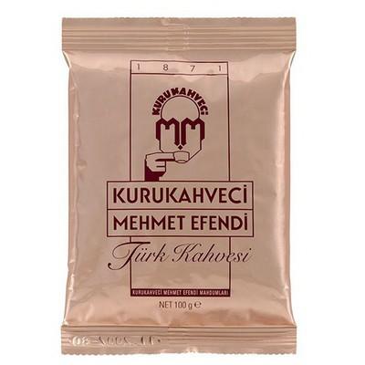 Mehmet Efendi Kurukahveci Türk si 100 Gr 25'li Paket 1 Koli Kahve