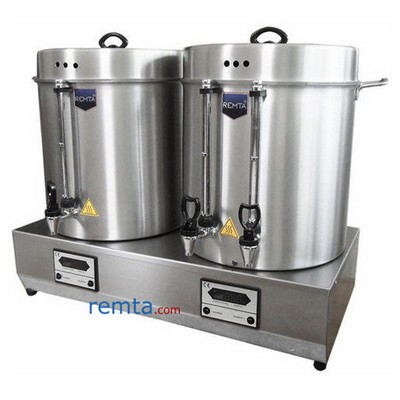 Remta Çiftli Çay ve Kahve Kazanı - 250 Bardak (HD11)