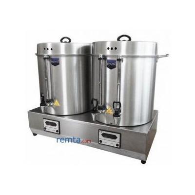 Remta Çiftli Çay ve Kahve Kazanı - 120 Bardak (HD12)