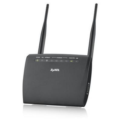 Zyxel VMG 1312-B10D Kablosuz ADSL2+/VDSL2 FİBER UYUMLU 4 PORT USB MODEM/ROUTER Router
