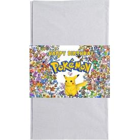 Parti Paketi Pokemon Go Kağıt Peçete Kuşağı, 20cm 16'lı Parti Peçetesi