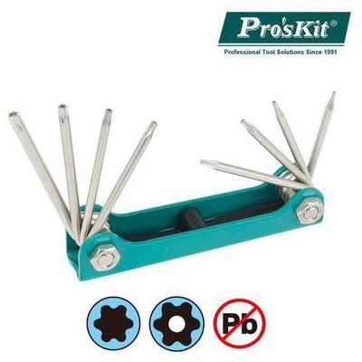 Proskit 8pk-021t 8 Parça  (t5, T6, T7, T8, T9h, T10h, T15h, T20h) Anahtar Takımı