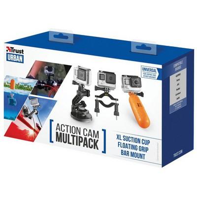 Trust Urban 21483 Aksiyon Kameraları İçin Multi Kiti Kamera Aksesuarı