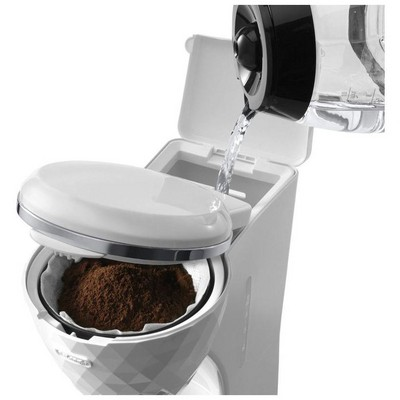 Delonghi ICMJ210.1W Brillante  Beyaz Kahve Makinesi