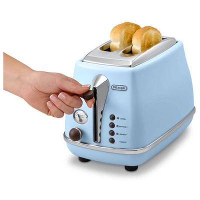 Delonghi CTOV 2103.AZ Icona Vintage Ekmek Kızartma Makinesi