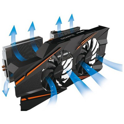 Gigabyte GeForce GTX 1070 WindForce 2x OC 8G Ekran Kartı
